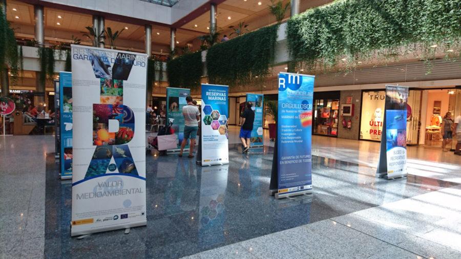 Reservas Marinas, Garantía de Futuro: Exposición Moda Shopping